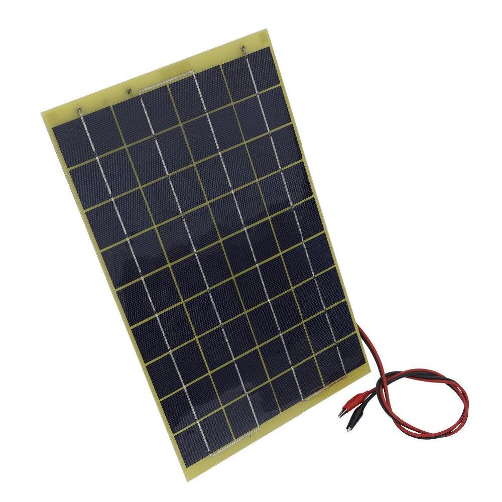 10 Watt 12 Volt Epoxy Solarpanel Modul 12 V Ladegerät Camping