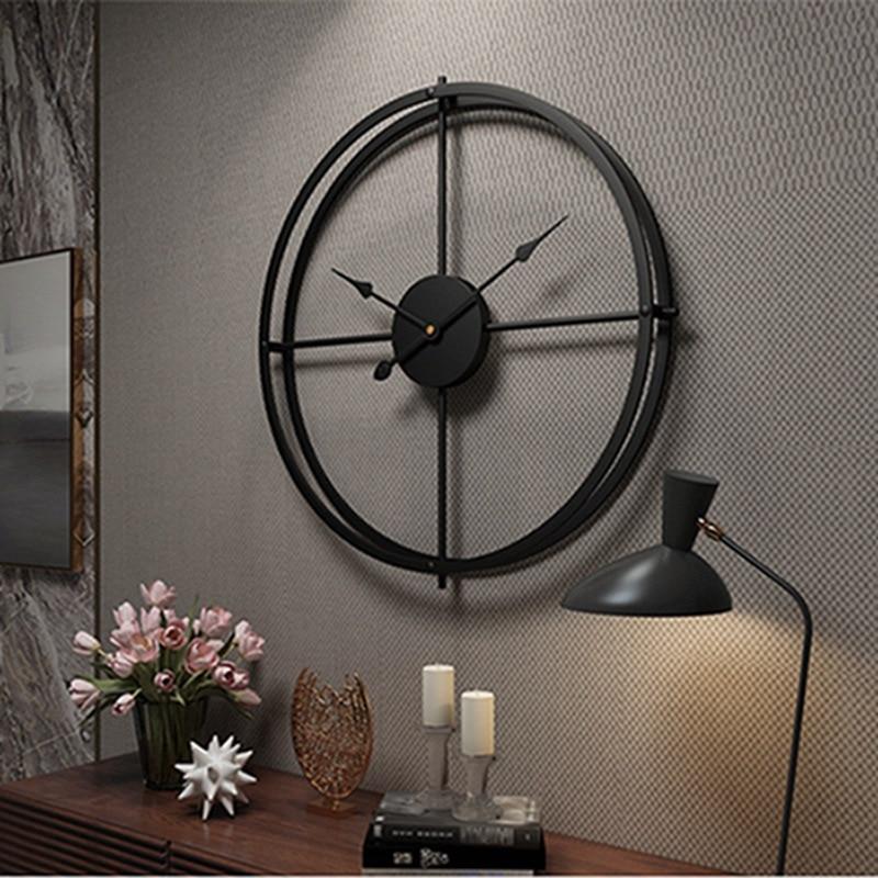 a300356c86d Parede Relógio Digital Levou Grande Relógio de Parede Design moderno 3D Z30 Grande  Temperatura de Alarme