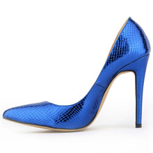 The Shallow Mouth High-Heeled Shoes 2015 Spring&Autumn women fashion Pumps Basic Weddding Mature Snake Skin Soft Leather Pumps