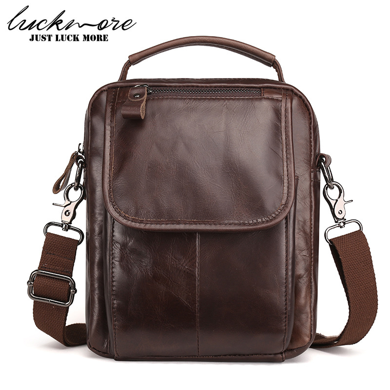Genuine Leather Men Messenger Bags 2017 Fashion Designer Man Shoulder Bag Handbags Business Briefcase Crossbody Bag High Quality genuine leather men bag fashion messenger bags shoulder business men s briefcase casual crossbody handbags man waist bag li 1423