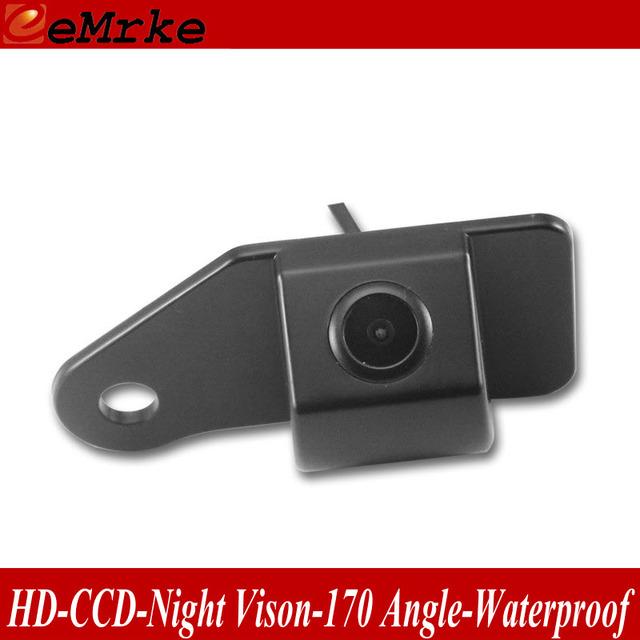EeMrke Cámara de Visión Trasera Para Mitsubishi ASX/RVR 2010 ~ 2015 Pre-Agujero de La Cámara HD de La Visión Nocturna Reversa Impermeable cámara