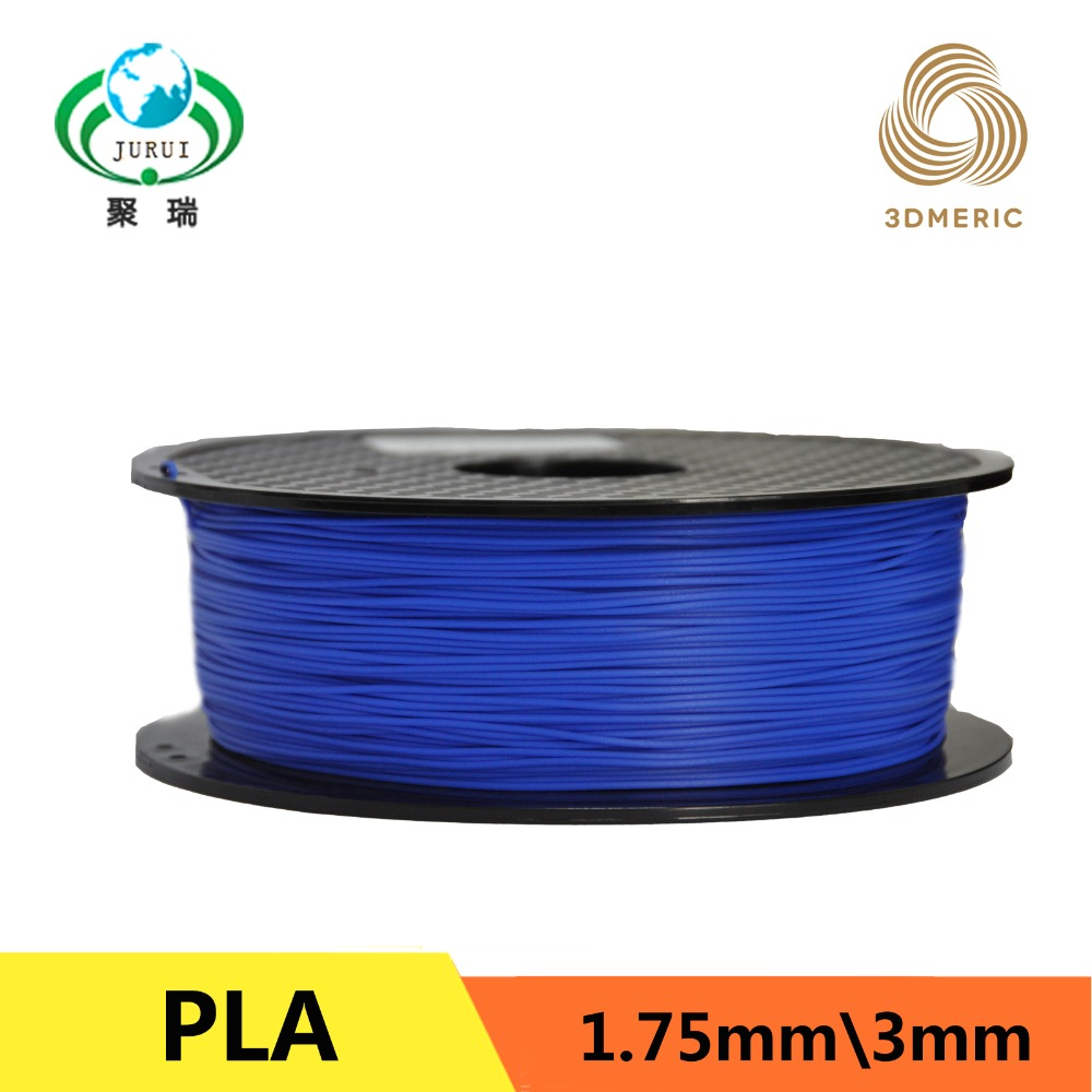 blue PLA Filament for 3D Printer 1.75mm 1kg (2.2lb)/spool tronxy 1 75mm pla filament for 3d printer