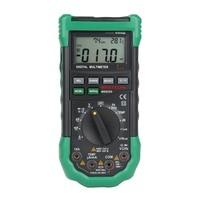 MASTECH MS8229 Digital Multimeter 5 in 1 Noise Illumination Temperature Humidity Tester Diagnostic tool Auto Range LCD Backlight