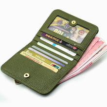 Fashion Womens Wallet  Mini Short Premium Button Bee Quality Hardware