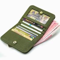 Fashion Women's Wallet Mini Short Wallet Women's Wallet Premium Button Women's Bee Quality Hardware