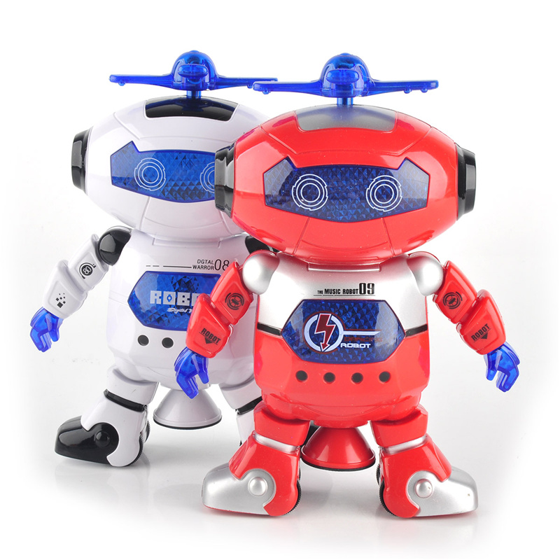 Space Dancing Toy Smart Space Dance Robot Electronic Walking Toys With Music Light Gift For Kids Astronaut Toys to Child Gift otamatone toy music instruments for kids with 8 built in songs