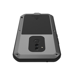 Image 3 - LOVEMEI חזק מתכת עמיד למים מקרה עבור Huawei Mate 20 לייט Mate20 lt אלומיניום הלם עפר הוכחת כיסוי עם זכוכית גורילה סרט