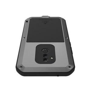 Image 3 - LoveMei Kim Loại Mạnh Mẽ Chống Nước Cho Huawei Mate 20 Lite Mate20 LT Nhôm Bụi Bẩn Chống Sốc Chống Cover Với Kính Cường Lực Gorilla Glass bộ Phim