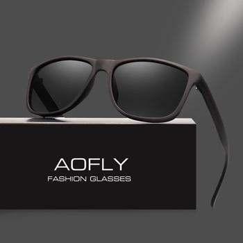AOFLY Brand Design Polarized Sunglasses Men Driving Sun Glasses Vintage Retro Mirror Goggle Eyewear Male Gafas De Sol AF8031 - discount item  46% OFF Eyewear & Accessories