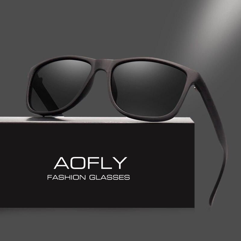 AOFLY Marke Design Polarisierte Sonnenbrille Männer Fahren Sonnenbrille Vintage Retro Spiegel Goggle Brillen Männlichen Gafas De Sol AF8031