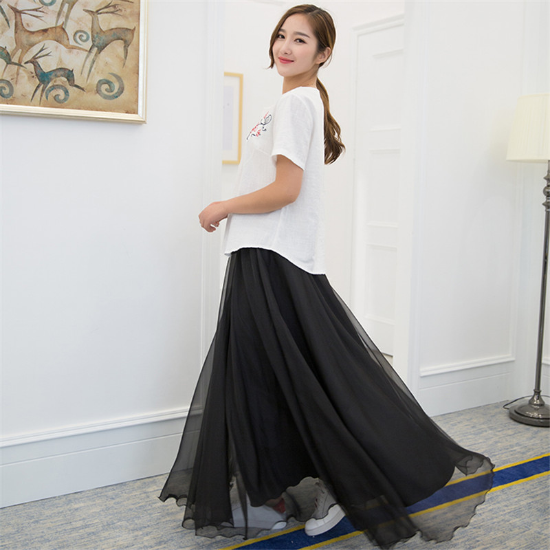Popular Chiffon Maxi Skirt Formal-Buy Cheap Chiffon Maxi Skirt ...