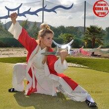 Vintage Kung fu Tai chi Shaolin Uniform Wudang Taoist Robe Martial arts Wing Chun Karate Suit