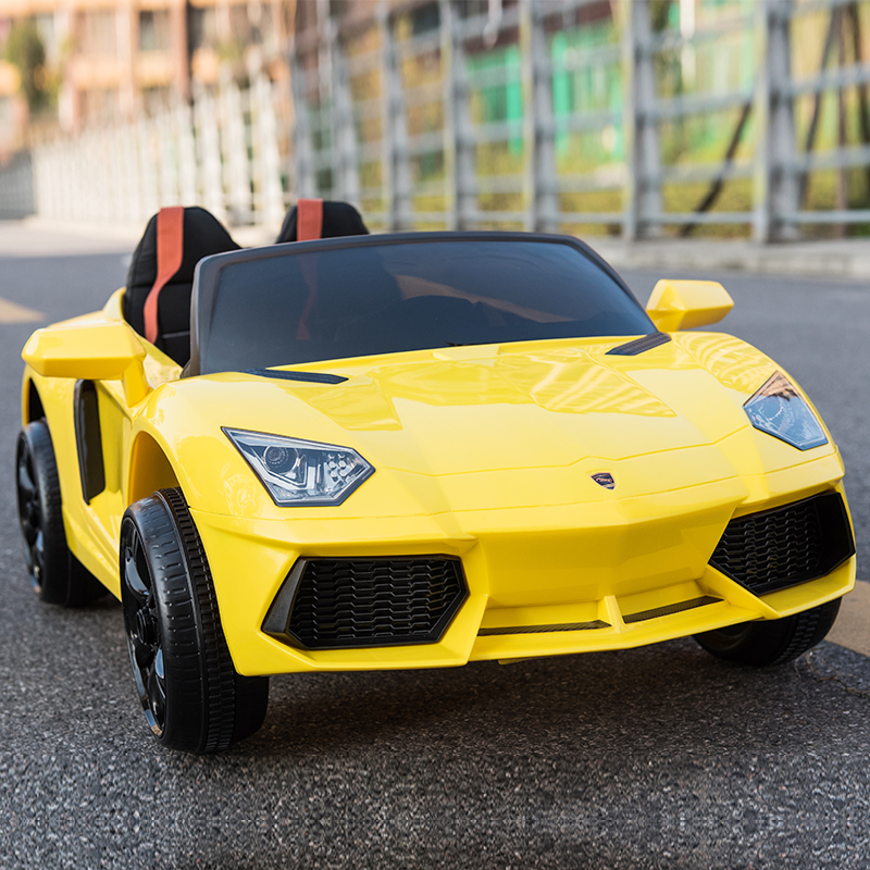 Child Electric Car with Remote Control Kids Bluetooth Ride on Car Child Pretend Play Toys RC Car Electric Baby Toy Vehical Car