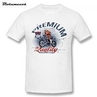 Summer Men T Shirt Premium Motorbike Competition Printed Short Sleeve Crewneck 100 Cotton Tees Shirt Top