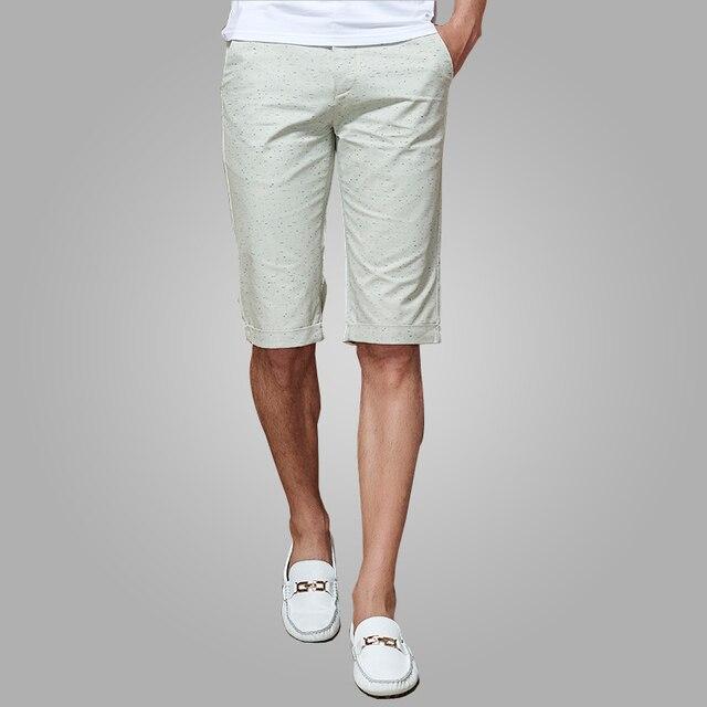 2e3e52df0 Pantalones cortos de Los Hombres 2016 marca nueva Moda de Verano Para Hombre  Pantalones Cortos Delgados