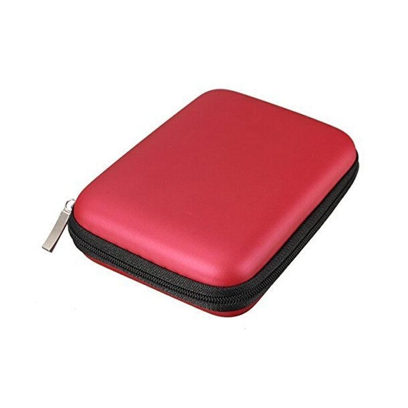 Housse étui de transport pochettes pour disque dur externe HDD USB 2.5 de batterie externe pouces, sac de protection pour disque dur