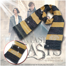 Hot Antastic Beasts en Where to Them Them Scarf Cosplay Newt Scamander Sjaal Harry Potter kostuum cosplay
