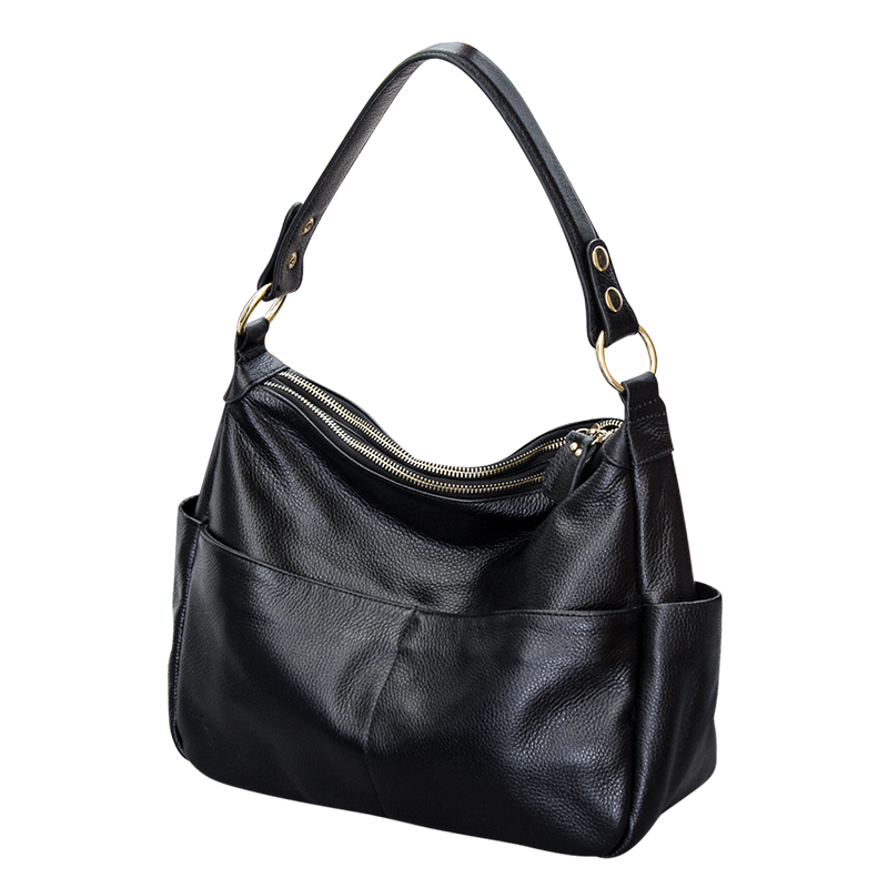 2018 New Style Hot sales Ladies Genuine Leather Handbags Shoulder Messenger Bags Women Bag Fashion High Quality Women's Handbags 999 popular high quality ba lovely retro fashion handbags messenger style for bai le li 3 15 100usd