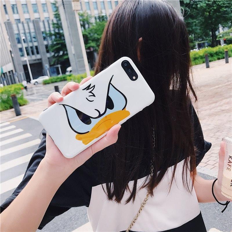 HTB1ur8AUhYaK1RjSZFnq6y80pXa6 Cute Cartoon Lanyard crossbody Phone Case For iphone Xs Max Xr X 7 8 6 Plus Soft Silicon TPU cover Phone Bag Shoulder Strap case