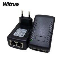 POE Инжектор 48 В 0.5A адаптер питания poe инжектор для IP камеры видеонаблюдения 802.3af ЕС/США/ВЕЛИКОБРИТАНИЯ Plug