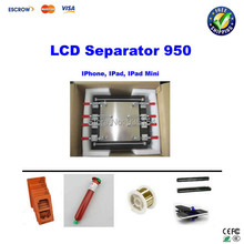 LCD separator 950 for Ipad, Iphone, Ipad mini 11 inch screen refurbishment+ UV glue+moulds+cutting wire+rods(China)