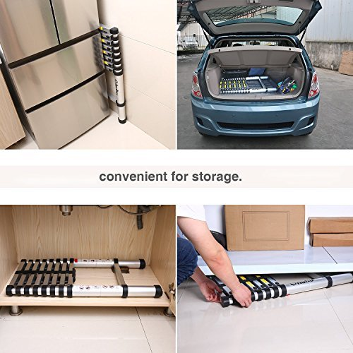Telescopic-Extension-Ladder Household-Ladder Folding Aluminum Retractable 6061 Multifunctional