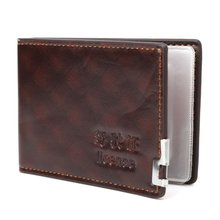 1 шт модный мужской кошелек Для водительских прав держатель
