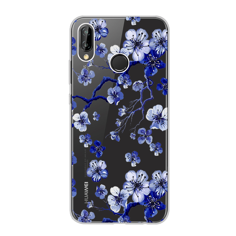 new concept 4a499 86c38 US $1.8 5% OFF For Huawei P20 Lite Case Cover 5.84