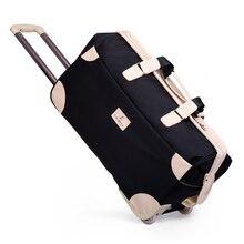 Новинка, женский водонепроницаемый багажник для тележки, сумка для студентов, толстый чемодан на колесиках, сумка на колесиках, мужские дорожные сумки, чемодан на колесиках
