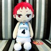 50cm Japan anime Akashi Seijuro Anime Kuroko No Basuke Plush Toy Stuffed Kawaii Doll Cosplay Sofa Pillow Kids Collection Gift