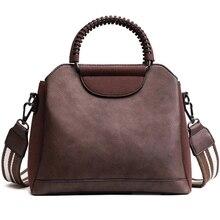 Высококачественная кожаная сумка-мессенджер, сумка через плечо для женщин, модные женские сумки