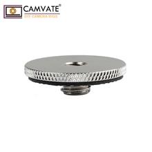 """CAMVATE מצלמה בורג מתאם 1/4 """"כדי 3/8"""" עבור DSLR מצלמה חצובה/חדרגל/כדור ראש/מהיר שחרור צלחת פוטוגרפיה אבזרים"""