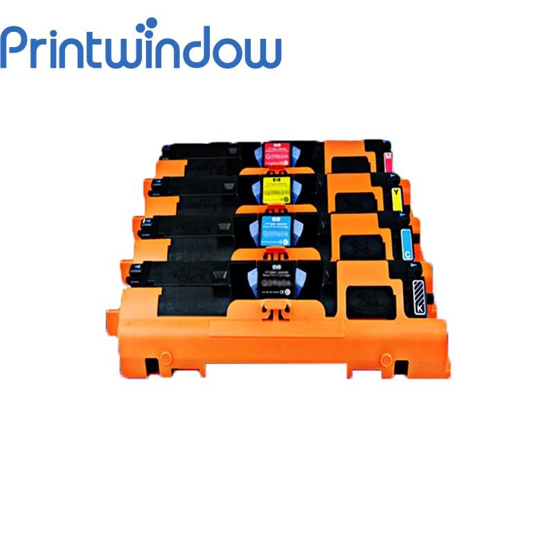 Printwindow Compatible Toner Cartridge C9700A C9701A C9702A C9703A C9704A for HP 1500/2500 4X/Set