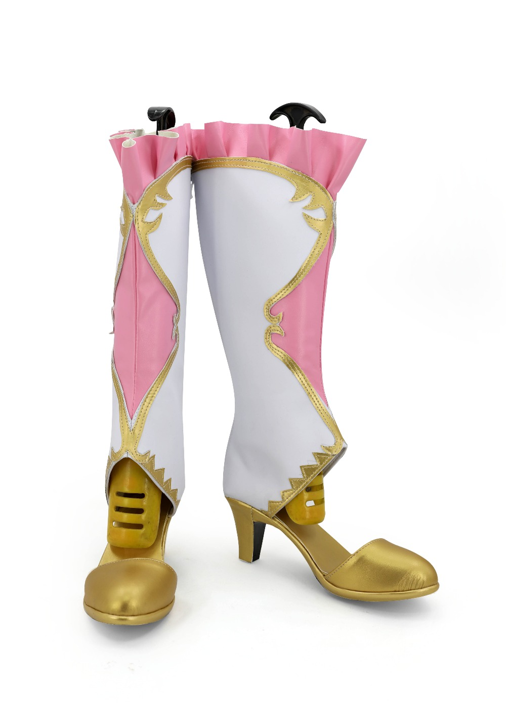 Anime Lovelive Sonoda Umi Cosplay Shoes Boots Girls Pink Boots Halloween Cosplay