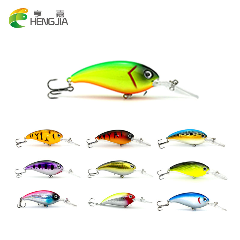 HENGJIA 10pcs 14g 10cm fishing lures isca Artificial bait wobbler carp fishing minnow bass pike lure crankbait trout tackle hook стоимость