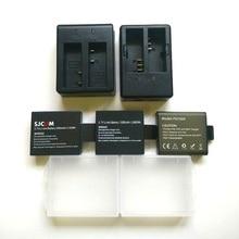 SJCAM EKEN Soocooเดิมแบตเตอรี่1050/1350MAhสำหรับSj4000 Sj5000 M10 C30 H9 H5S THIEYE T5E 7กล้องอุปกรณ์เสริม