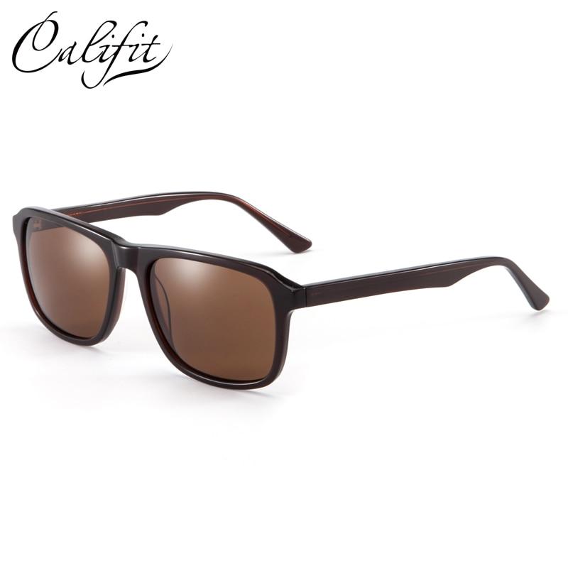 Design Califit c3 c4 C2 Braun Rechteck Männer Brillen Photochrome Original Rezept Optische Polarisierte Gläser Männlichen Objektiv zzgHrq