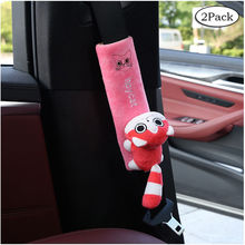 2 Pack Car Seat Belt Pads Universal Car Seat Shoulder Strap Pad Cushion Cover Car Belt Protector Safety Belt Cover  YC007