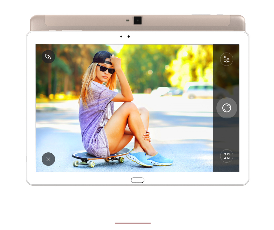 NEW 10.1 inch 1200*1920 IPS 2GB Ram 32GB Rom Dual Camera GPS Cube T10 Dual 4G Phone Tablet PC Android 6.0 MTK MT8783 Octa Core