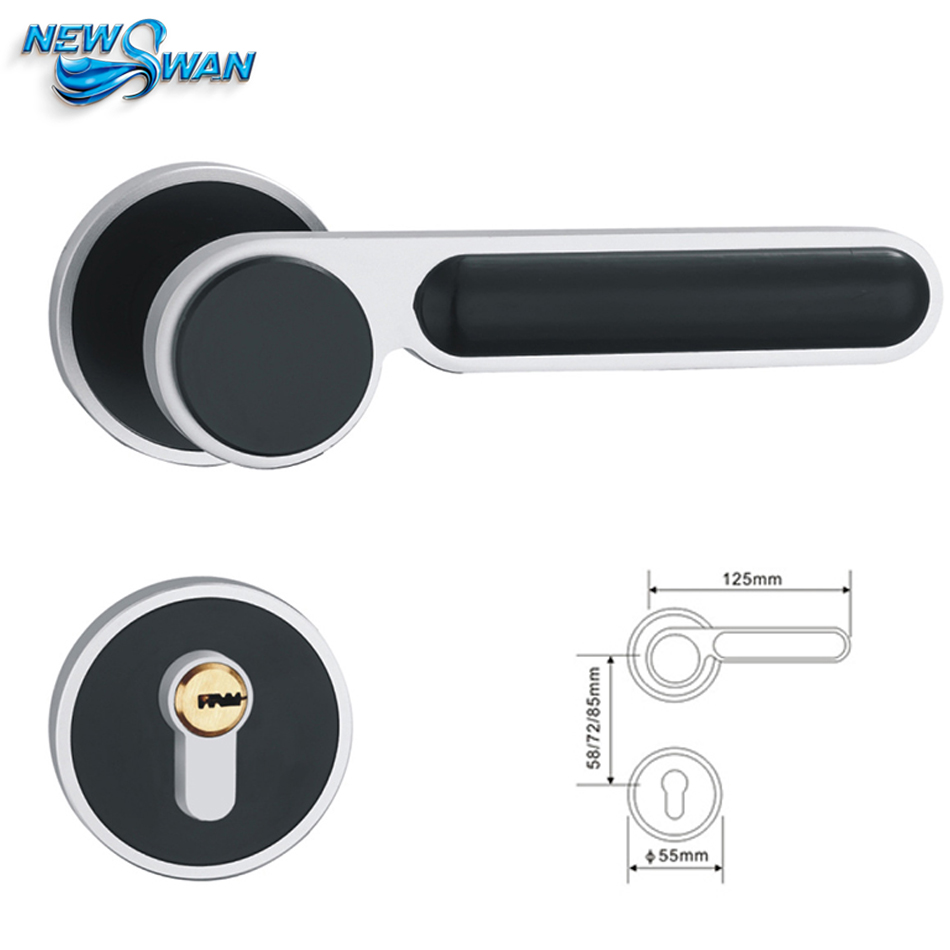 D01-A06 Space Aluminum Handle Lock Gate Oxide Mute door Safe-guard Chain Door and Window Lock for Room Door Entrance Door zinc oxide and manganese doped zinc oxide nanoparticles
