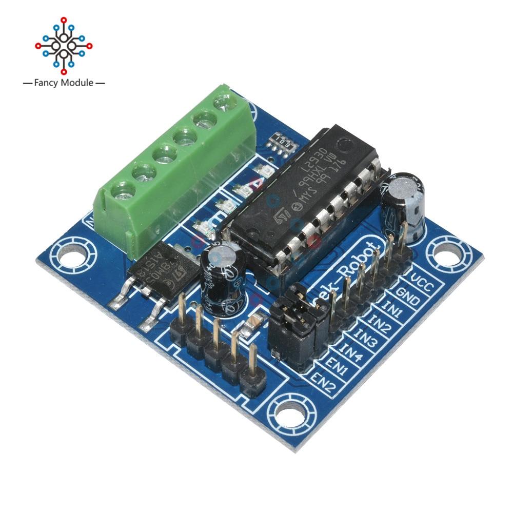 L293D мотор драйвер Модуль 4-канальный DC мотор Управление щит L293D Плата расширения высокого Напряжение ток для Arduino UNO MEGA 2560