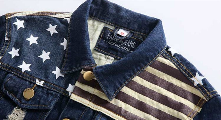Denim Jacket men USA Design fashion Jeans Jackets Slim fit American Style Vintage Mens Jacket and Coat outdoors Jeans clothing (5)