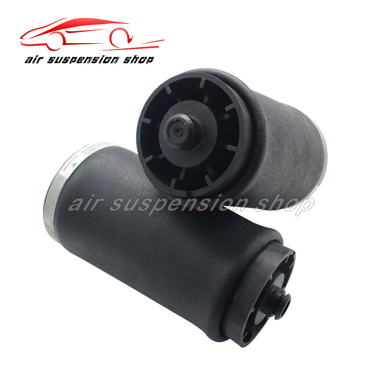 Pair Rear Air Spring For BMW <font><b>X5</b></font> <font><b>E53</b></font> 37126750355 37126750356 Top Rubber Suspension Bladder 2000 2001 2002 2003 <font><b>2004</b></font> 2005 2006 image
