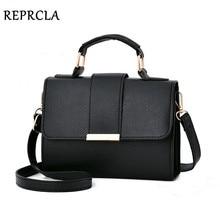 REPRCLA летняя модная женская сумка кожаные сумки PU сумка на плечо маленькая сумка через плечо с клапаном для женщин сумки-мессенджеры
