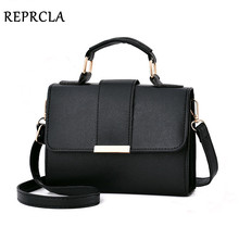 REPRCLA 2018 Summer Fashion Women Bag Leather Handbags PU Sh