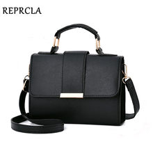 REPRCLA 2019 Summer Fashion Women Bag Leather Handbags PU Shoulder Bag Small Flap Crossbody Bags for Women Messenger Bags(China)