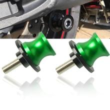 Motorcycle Accessories CNC Swingarm Sliders Spools slider stand screw For Kawasaki Z800 Z800/E veRsion 2013 2014 2015 2016 2017 цена