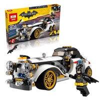 335 Pcs Batman Movie The Penguin Arctic Roller Penguin Man Bat Building Block Toys Compatible With