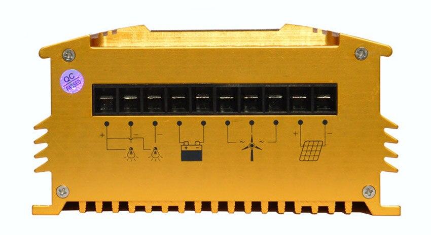 Parameter einstellbar mppt laderegler wind solar hybrid 200-600w 12 v/24 v