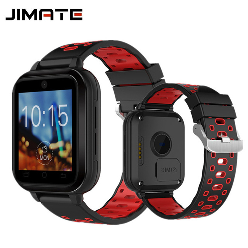 Jimate Q1 Pro 4G Smart Watch Android 6.0 GPS Camera SmartWatch Phone Heart Rate Moniter Sim Card Support Change Strap Wristwatch 4g gps android 6 0 smart watch m5 mtk6737 heart rate monitor support sim card camera business smartwatch for men women 2018 gift